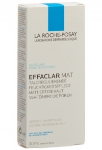ROCHE POSAY Effaclar Mat+ Tb 40 ml