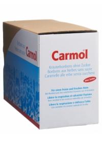 CARMOL Kräuterbonbons ohne Zucker 12 B..