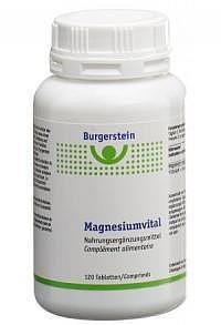 BURGERSTEIN Magnesiumvital Tabl Ds 120 Stk