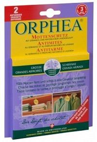 ORPHEA Mottenschutz Aufhänger Lavendelduft 2 Stk (Achtung! Versand nur INNERHALB der SCHWEIZ möglich