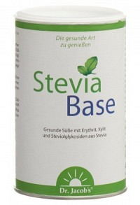 DR. JACOB'S SteviaBase Plv Ds 400 g