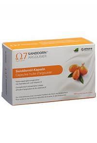 SANDDORN ARGOUSIER Omega 7 Kaps 180 Stk