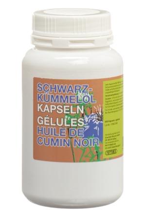 Schwarzkümmelöl Kaps 500 mg veg 400 Stk