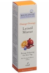 BIO PLANETE Omega Orange Leinöl-Mixtur Fl 100 ml