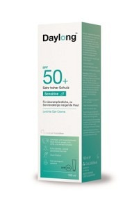 DAYLONG Sensitive Gel-Creme SPF 50+ Tb 100 ml