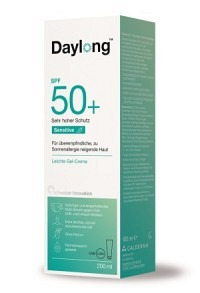 DAYLONG Sensitive Gel-Creme SPF 50+ Tb 200 ml
