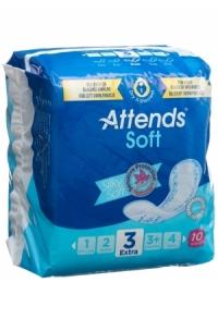 ATTENDS Soft 3 Extra Einlagen Btl 10 Stk