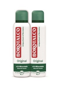 BOROTALCO Deo Original Spray 2 x 150 ml