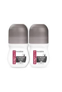 BOROTALCO Deo Invisible Roll on 2 x 50 ml