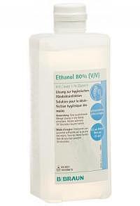 BRAUN Ethanol 80% Glycerin 1% Ovalfl 500 ml