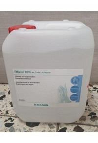 BRAUN Ethanol 80% Glycerin 1% Kanister 5 lt