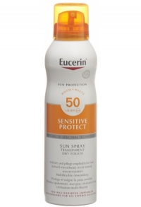 EUCERIN Sun Dry Touch Transparent LSF50 Spr 200 ml