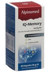 ALPINAMED IQ-Memory Kaps 60 Stk