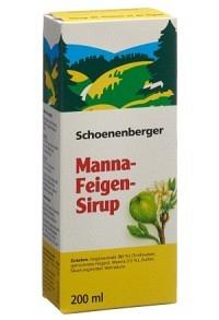 SCHOENENBERGER Manna Feigen Sirup Fl 200 ml