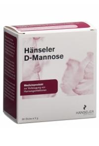 HÄNSELER D-Mannose 30 Stick 2 g