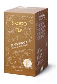 SIROCCO Teebeutel Black Vanilla 20 Stk