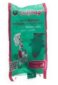 LADYBAG Taschen-WC für Frauen 700ml Einmalge