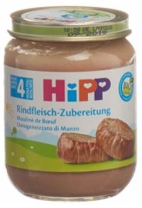 HIPP Rindfleisch Zubereitung 4M 125 g