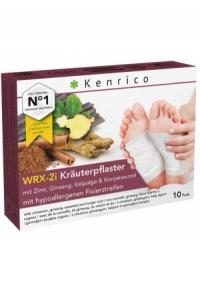 KENRICO Kräuterpflaster Zimt Gins Kelp Konj 10 Stk