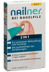 NAILNER Nagelpilz-Stift 2-in-1