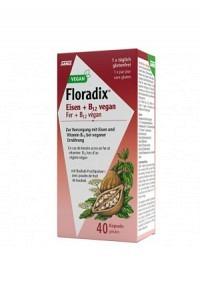 FLORADIX VEGAN Eisen + Vitamin B12 Kaps 40 Stk