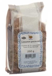 MORGA Leinsamen geschrotet Bio 250 g