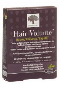 NEW NORDIC Hair Volume Tabl 30 Stk