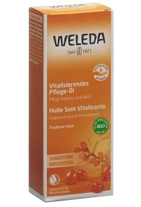 WELEDA Sanddorn Pflege-Öl Glasfl 100 ml