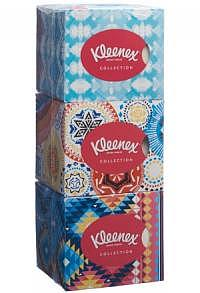 KLEENEX Collection Kosmetiktü Würf Trio 3 x 48 Stk