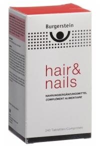 BURGERSTEIN Hair & Nails Tabl 240 Stk