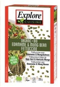 EXPLORE CUISINE Fettuccine Edamame&Mungo Bio 200 g