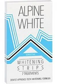 ALPINE WHITE Whitening Strips Sensitive f 7 Anwend