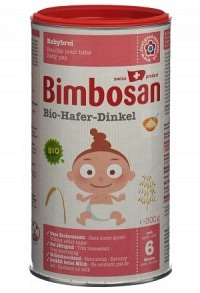 BIMBOSAN Bio 2 Hafer und Dinkel Plv Ds 300 g