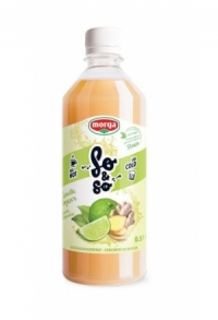 SO&SO Limette-Ingwer Konz mit Stevia Fl 5 dl