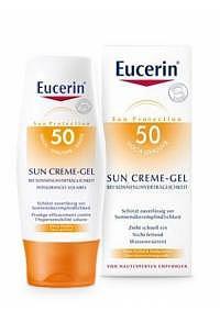 EUCERIN Sun Allergy Protect Creme Gel LSF50 150 ml