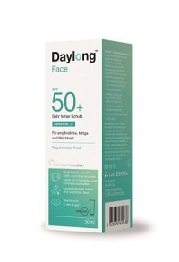 DAYLONG Sensitive Face Regulier Fluid SPF50+ 50 ml