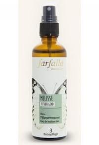 FARFALLA Bio-Pflanzenwasser Melisse Spr 75 ml