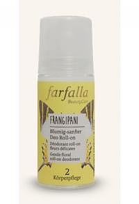 FARFALLA Blumig Deo Roll-on Frangipani 50 ml