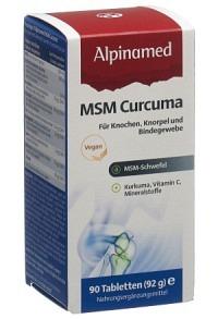 ALPINAMED MSM Curcuma-Arthro Tabl Ds 90 Stk