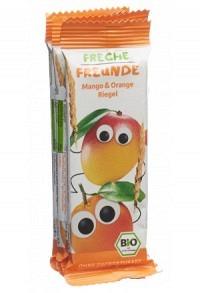 FRECHE FREUNDE Getreiderieg Mango Orange 4 x 23 g