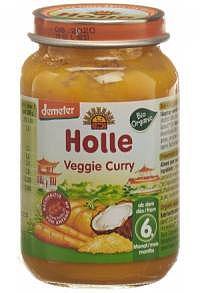 HOLLE Veggie Curry Glas 190 g