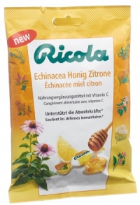 RICOLA Echinacea Honig Zitrone mit Zucker Btl 75 g