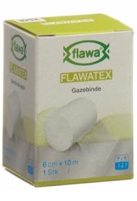 FLAWA FLAWATEX Gazebinde 6cmx10m unelastisch