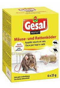 GESAL PROTECT Mäuse und Rattenköder 6 x 25 g (Ac..