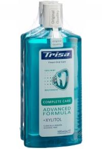 TRISA Mundspülung Complete Care DUO 2 Fl 500 ml