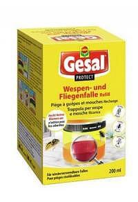 GESAL PROTECT Wespen- und Fliegenfalle Ref 200 ml (Achtung! Versand nur INNERHALB der SCHWEIZ möglic