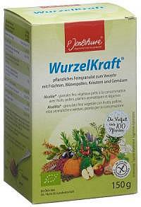 JENTSCHURA WurzelKraft Feingranulat Bio 150 g