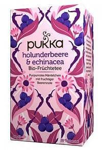 PUKKA Holunderbeere&Echinacea Tee Bio Btl 20 Stk