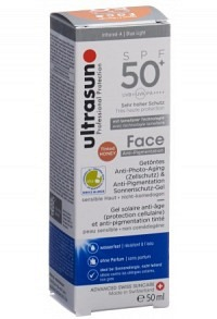 ULTRASUN Face Anti-Pigmentation SPF50+ Honey 50 ml