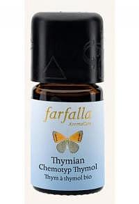 FARFALLA Thymian Thymol Äth/Öl Bio Grand Cru 5 ml